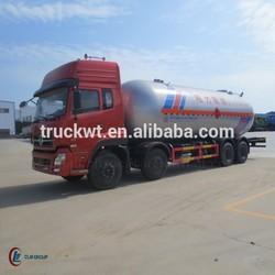 8*4 DONGFENG LPG Tank Truck 8000Gallon