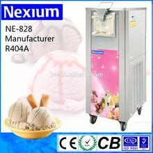 Large production capacity hard ice cream Machine gelato batch freezer