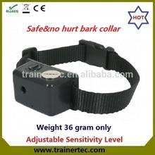Hot sale Dog Agility Training Product Ultrasonic and sound bark control collar