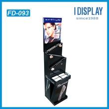 pop up cardboard display stand / point of sale cosmetic cardboard display