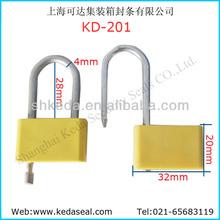 Factory price High security plastic padlock seal KD-201