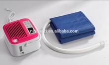Cotton/PVC Portable double air mattress built in automatic pump mattress