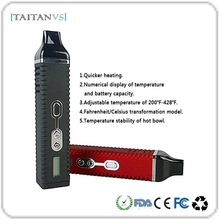 Taitanvs Best Seller Adjustable Voltage 2200mAh Battery Hi-Tech Vaporizer Dry Herb Wax Vaporizer Pen