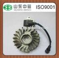 Cortador de escova peças bobina de ignição e magneto volante para 6MF-30 motor a gasolina
