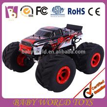 2015 nuevo producto juguetes de Radio control, Rc juguete del carro de monstruo, 1:6 escala RC Monster Truck con luz