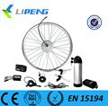 Bicicletta elettrica a ruota libera nuovo 2015/a buon mercato posteriore motore kit di conversione 350w