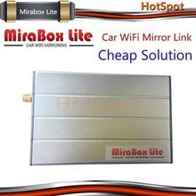 Cost-down solution! Car Mirabox Lite wireless mirror link AV out for suzuki swift car dvd gps navigation system