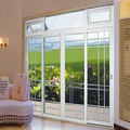 grado superior de aluminio lowes corredizas de vidrio puerta del patio