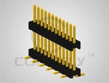 CONNFLY DS1031 SERIES PIN HEADER PITCH 1.27mm SINGLE ROW board spacer SMT type CONNECTOR