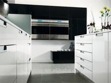 Mini kitchen cabinet/high gloss white kitchen cabinet/high gloss lacquer kitchen cabinet