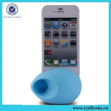 Magic music egg speaker silicon amplifier stand for iphon6 5g