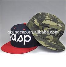 Personalizada Vans levantado do bordado Snapback chapéu / algodão esporte Caps