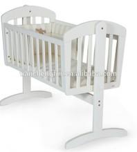 Wooden rocking crib cot bed Fashion TC8022
