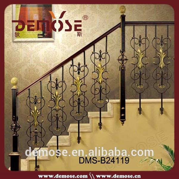 interior stair iron handrails antique ornamental iron