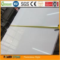 20mm Thickness Pure White Quartz Stone
