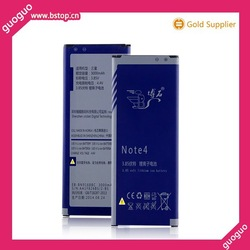 Large capacity mobile battery for samsung galaxy note 4