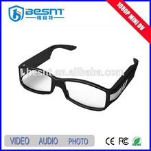 Hotsale Full HD 1080P Video Camera USB Rechargeable sunglasses DVR Camera(BS-787P)