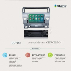 Car Navigation system with bluetooth For Citroen C4