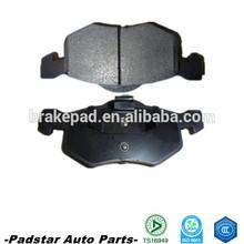 ECE R90 top quality semi-metallic formula car brake pad with shim 001 420 95 20 RR W202/W124/W210