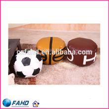 Kids Soft Material Rugby, Basketball, Football Shape Bean Bag