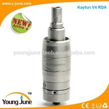 YJ Unique Design kayfun v4/kayfun lite plus v2/black kayfun v4 rda bell cap with fast delivery