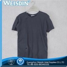 yarn dyed hot sale cotton/bamboo fiber man customized 100 cotton bulk tshirts
