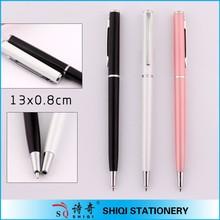 Multicolor Cheap Logo Plastic Ball Point Pen