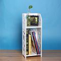 ucuz küçük dekoratif taşınabilir duvara katlanır kitap rafı