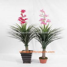 SJH010633 shengjie artificial plants indoor plants with red flowers decorative indoor plants