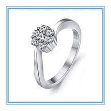 High quality fashion design hot sale Wei Miao rhinestones ring