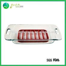 2015 venta caliente 100% fda eco- ambiente de silicona asador tostado rack