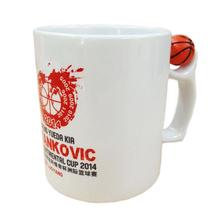 Hot Heat Press Basketball Ceramic Coffee Mug