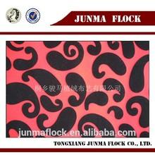 Classical home textile product modern flocking plaid fleece duvet cover set