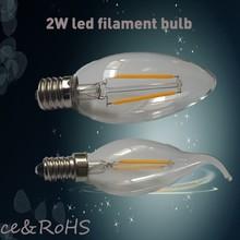 ceramic tails factory 4w LED filament bulb light &lighting