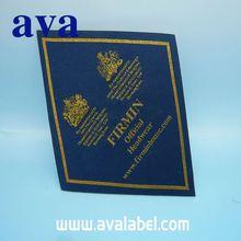 AVA 2015 sports and fashion damask woven clothing badge
