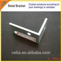 custom-made metal corner braces for wood, furniture, shelf, wall, box, table or chair