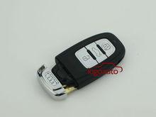 3 button 8T0 959 754 J smart key case for Audi A3 A4 A4L A6L Q5 Q7