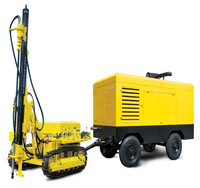 Diesel Engine Portable Rotary Screw Air Compressor for Drilling Rig