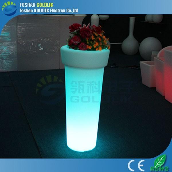 wifi função plástico vaso de flores
