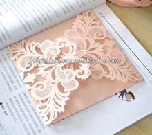 Luxurious custom wedding decorations/wedding invitation card