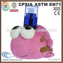 Cheap plush toy desktop cell phone holder
