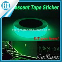 Custom luminous sticker, glow in the dark sticker paper