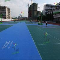 interlocking standard badminton court price for indoor and outdoor