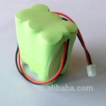 Batteria nimh 6s1p 7.2v 3600mah batteria per robot aspirapolvere intelligente pulitore