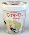 Iml 125 ml / 500 ml / 1L de plástico redondo helados contenedores