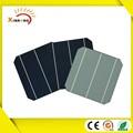 156mm de silicio monocristalino de tamaño del material y de alta eficiencia de células solares 156