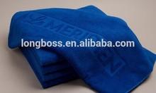 100% cotton jacquard logo single color bath/face/hand towel for hotel