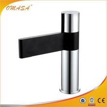 Brass unique bathroom basin faucets matt black lacquered unique bathroom basin faucets