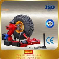 truck tire changer equipment/portable big tire repair tools
