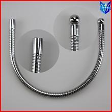 Chromed plated flexible metal tube distributor